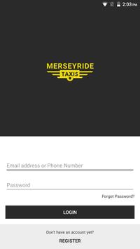 Merseyride Taxis Driver screenshot 1