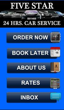 Five Star Car Service poster