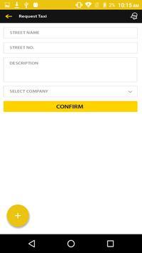 Taxi Central Customer - Mobile Application screenshot 2