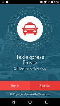 Taxiexpress Driver poster
