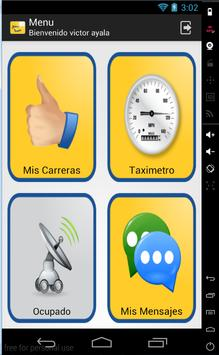 TaxiFinger para Taxistas apk screenshot