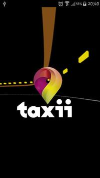Taxii poster