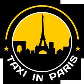 Taxi in Paris icon