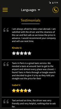 Taxi in Paris apk screenshot
