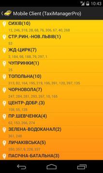 Mobile Client (TaxiManagerPro) screenshot 2