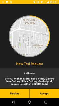 Taximo Driver screenshot 1