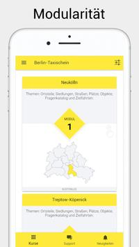Taxi Online Kurs - Taxi driver license poster