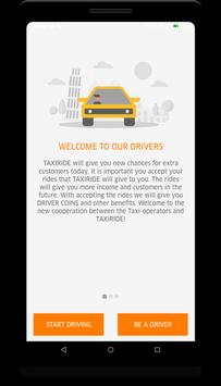 TAXIRIDE DRIVER screenshot 1