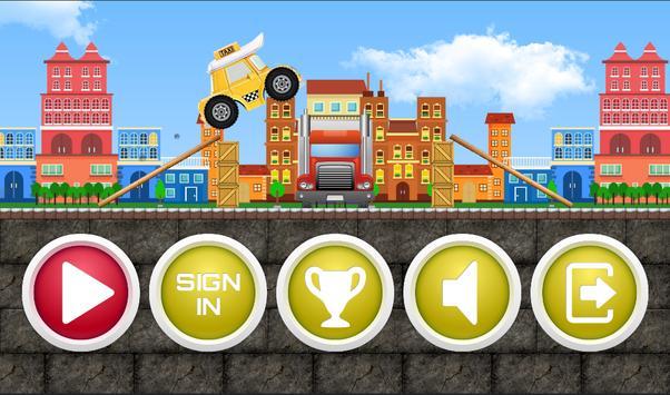 Taxi Robocar Poli Cab Game poster