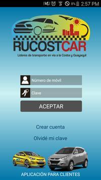 Taxi RucostCar poster