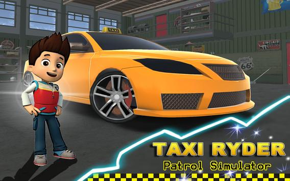 Taxi Ryder 3D Simulator screenshot 1