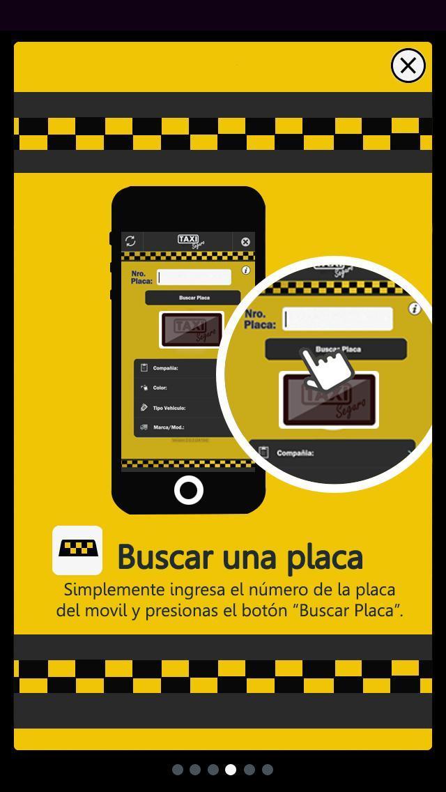 Taxi Seguro Bolivia poster