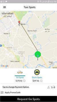 Taxi Spots Driver screenshot 1