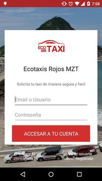 Ecotaxis Rojos Mzt poster
