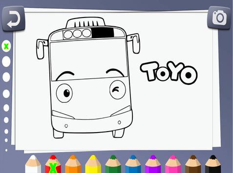 Tayo Mewarnai Screenshot