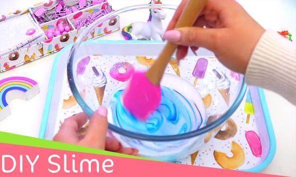 DIY Slime - Best Tutoriels For DIY Slime poster