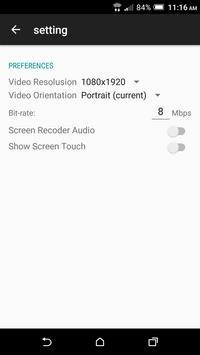 My Screen Recorder apk screenshot