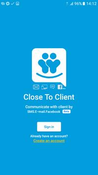 Close To Client poster