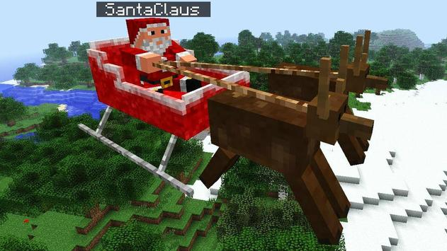 Christmas Mod Minecraft ideas poster