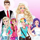 العاب بنات مكياج--تلبيس البنات icon