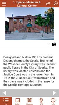 Sparks NV, Historic Tours apk screenshot