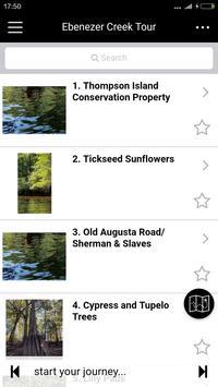 Ebenezer Creek Tour apk screenshot