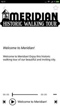 Meridian Historic Walking Tour apk screenshot