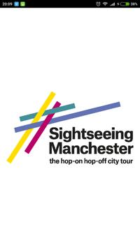 Sightseeing Manchester poster