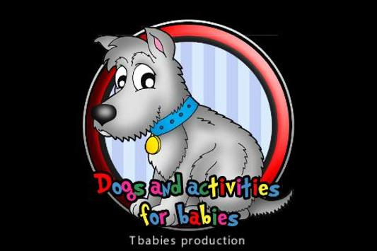 dogs and activities for babies poster
