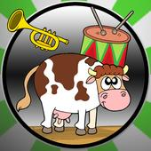 farm animals for all babies icon