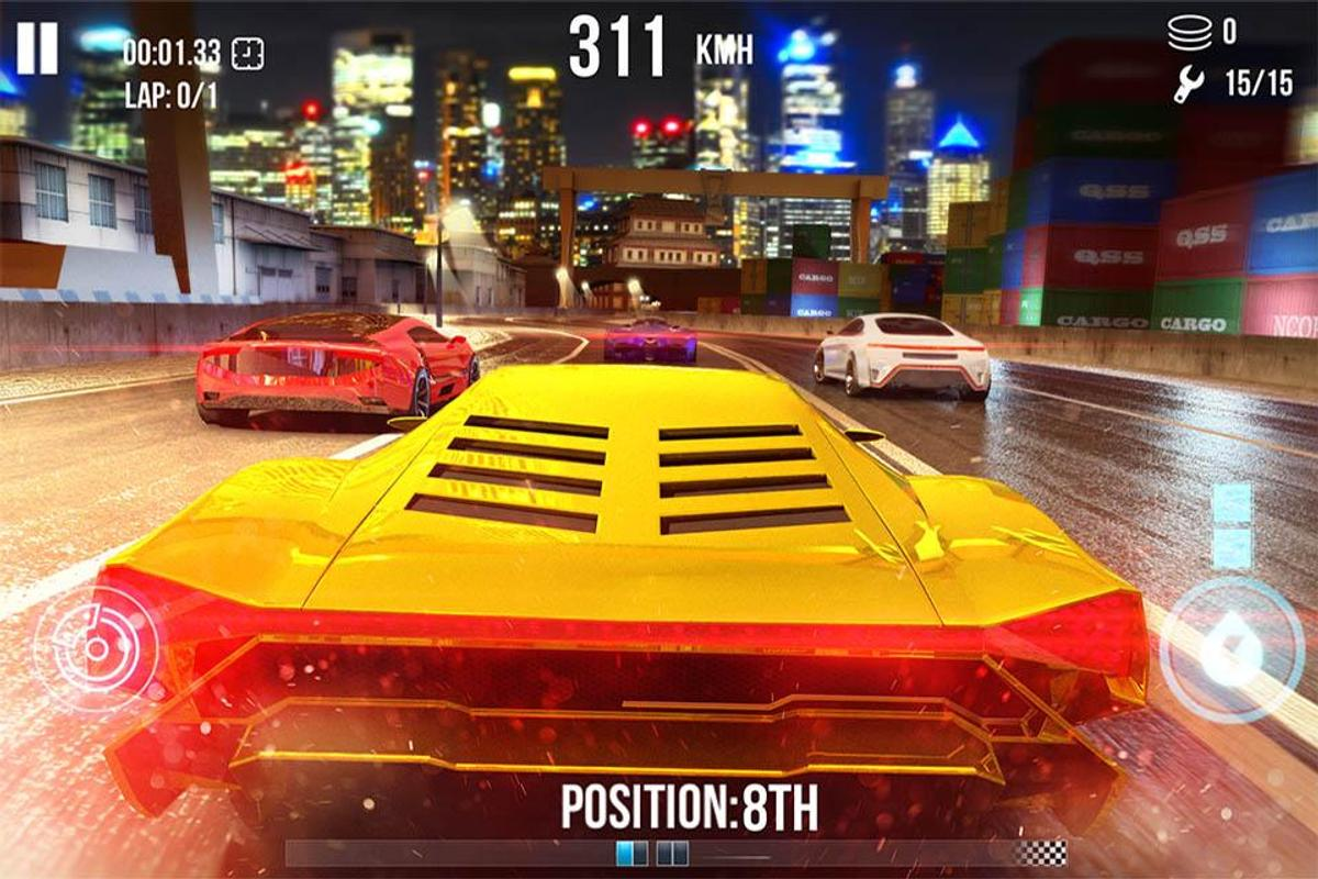 Create Your Own Car Games And Drive It >> High Speed Race para Android - APK Baixar