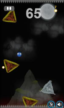 Ninja Ball Fall free apk screenshot