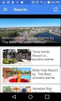 The Best Vacation Homes apk screenshot