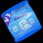 Music tornado PlayerPro Skin icon