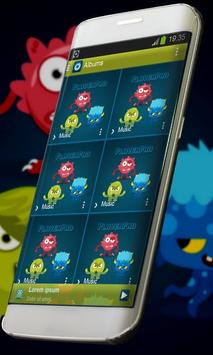 Monster Music Player Skin cho Android - Tải về APK