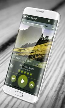 Nature PlayerPro Skin apk screenshot