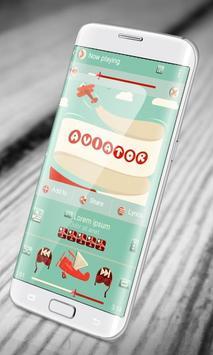 Aviator PlayerPro Skin apk screenshot