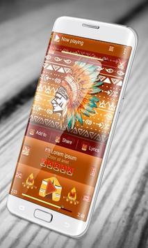 Amerindian PlayerPro Skin apk screenshot