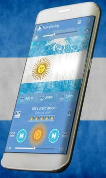 Argentina Music Player Skin poster