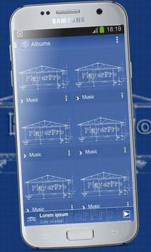 Blueprint playerpro theme apk download free personalization app blueprint playerpro theme apk screenshot malvernweather