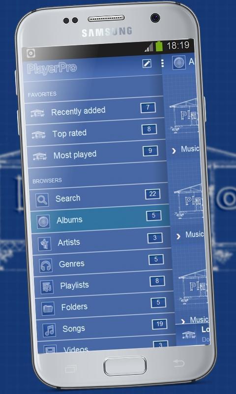 Blueprint playerpro theme apk download free personalization app blueprint playerpro theme poster blueprint playerpro theme apk screenshot malvernweather Choice Image