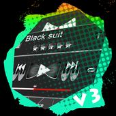 Black suit PlayerPro Skin icon