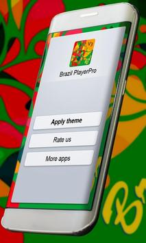 Brazil Music Player Skin apk screenshot