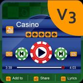 Casino Music Player Skin icon