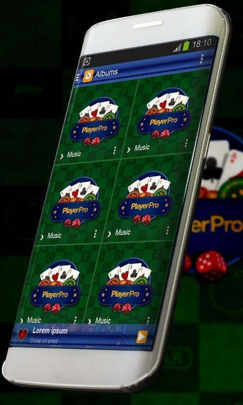 Casino Music Player Skin cho Android - Tải về APK