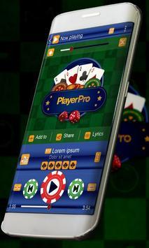 Casino Music Player Skin poster