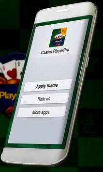 Casino Music Player Skin apk screenshot