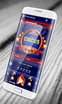 Circus PlayerPro Skin apk screenshot