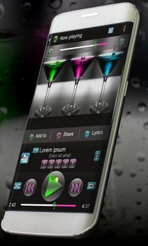 Cocktails Music Theme apk screenshot