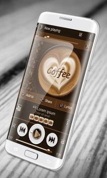 Coffee PlayerPro Skin apk screenshot